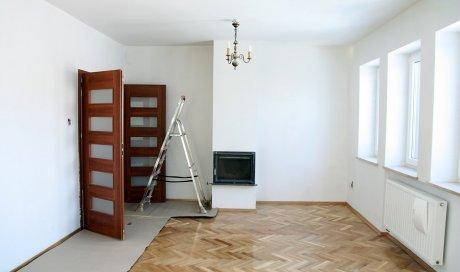Entreprise pour la rénovation de peinture mur et plafond d'un grand salon